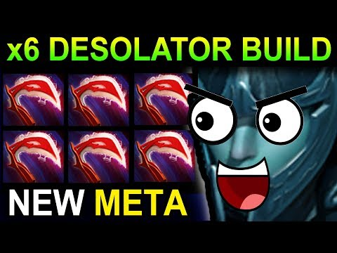 DESOLATOR PHANTOM ASSASSIN - DOTA 2 PATCH 7.06 NEW META PRO GAMEPLAY