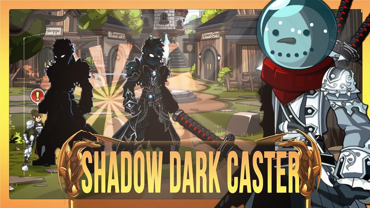 Shadowed Dark Caster Aqw Get Shadow Dark Caster