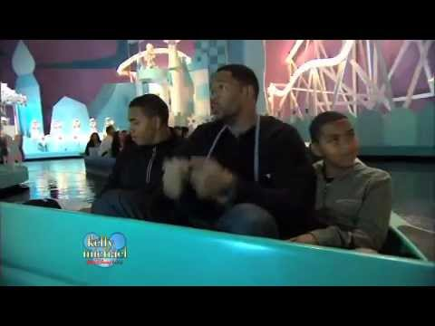 Michael Strahan's Disney World Boys' Night Out on