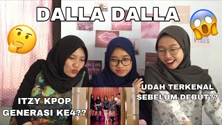 Reacting to ITZY(있지) - 달라달라(DALLA DALLA) MV //kpop 4th generation//