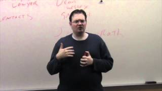 Brandon Sanderson Lecture 8: Agents and New York (3/8)