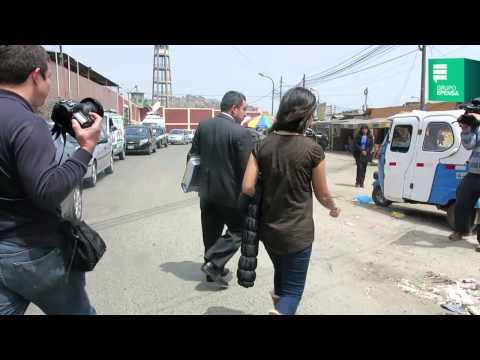 Eva Bracamonte regresó a la sala judicial del penal de Lurigancho