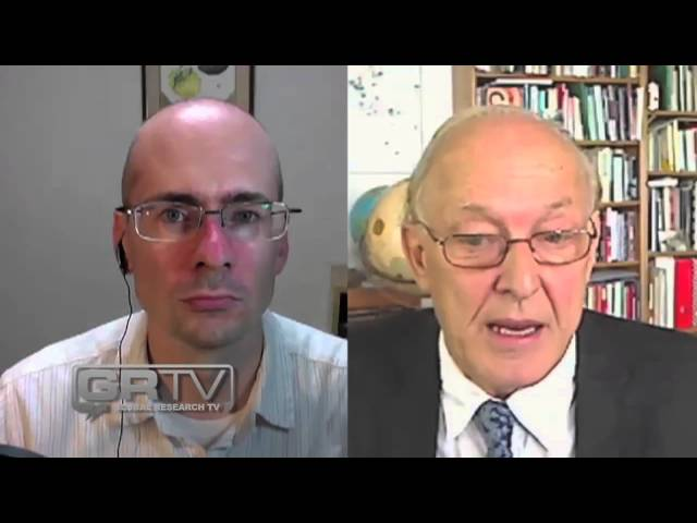 Opposing the Syrian War Propaganda - Michel Chossudovsky on GRTV
