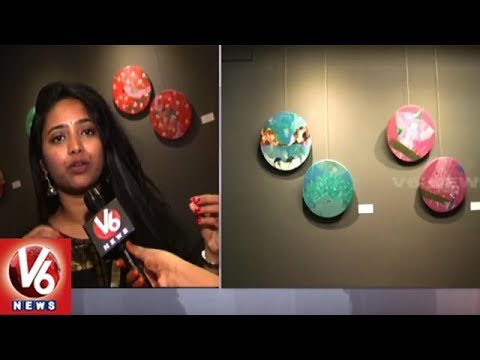 Krishnakriti Foundation Holds Artist Priyanka Aaley's Cross Residency Arts In Hyderabad | V6 News