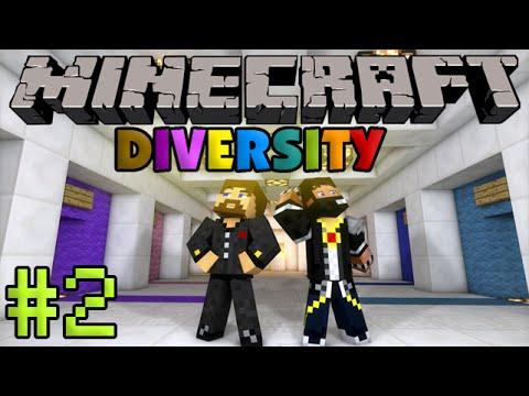 Minecraft Diversity #2 - Прыжки в небе