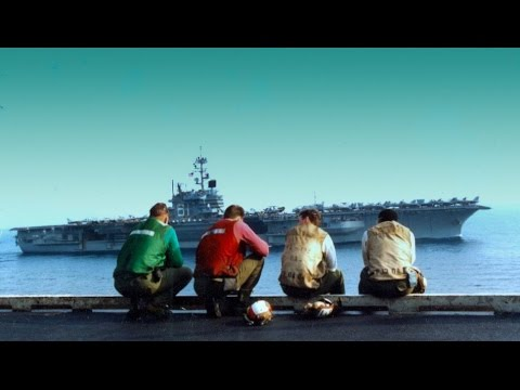 See What Life Is Like On A US Navy Carrier | Inside Look
