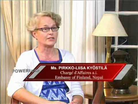 POWER TALKS 19. FINLAND. Charge d'Affaires a.i., Pirkko-Liisa Kyostila. 29th June 2009