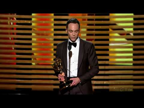 "Jim Parsons wins an Emmy for ""The Big Bang Theory"" 2014"