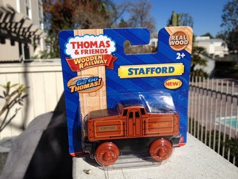 New 2013 Stafford - For The Mattel Thomas The Tank Engine & Friends Wooden Railway Toy Train Review