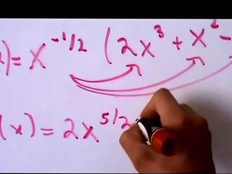 Cálculo Diferencial - Aprendiendo a Derivar