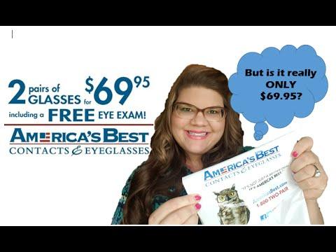 America's Best Eye Glasses HONEST Review ~ Sam GlamSlam