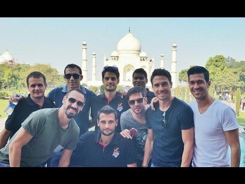 Atlético de Kolkata's Fatafati Players say Wah Taj !