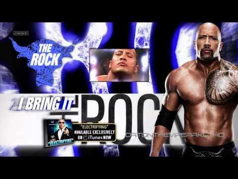 WWE Dwayne The Rock Johnson Theme Song 2012 - 2013: Electrifying...