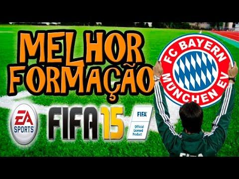FIFA 15 MELHOR FORMAÇÃO PRO BAYERN DE MUNIQUE