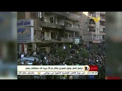 Raw: Explosion in Southern Beirut