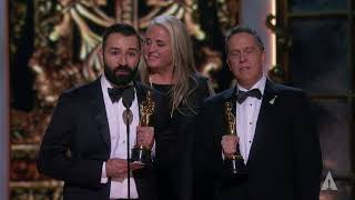 """Coco"" wins Best Animated Feature"