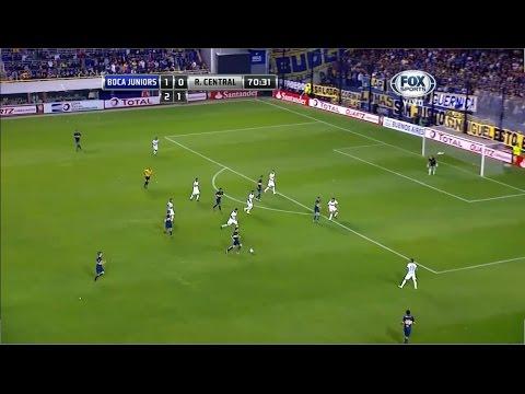 Boca Juniors 3 - 0 Rosario Central Copa Sudamericana 2014