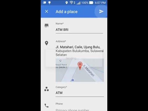 How To Add Place in Google Map Mobile