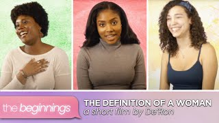 THE DEFINITION OF A WOMAN | Women's History Month Edition