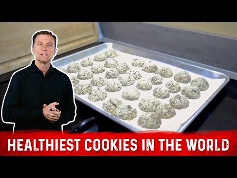 The Healthiest Cookies in the World - No Sugar or Flour or Bad Stuff