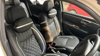 New Seat Covers On My Swift | Cheapest Seat Cover In Karol Bagh | Bucket Fit Seat Cover Installation