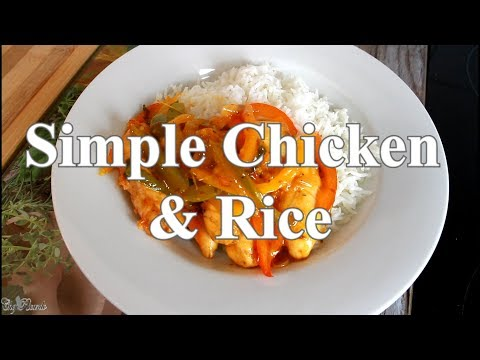 Best Sunday Dinner A Simple Chicken & Rice | Chef Ricardo Cooking