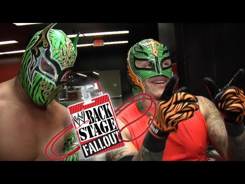 Backstage Fallout - Impactful Superstar returns - SmackDown - February 1, 2013