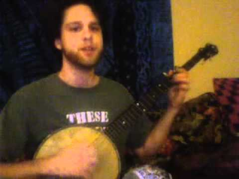 Cumberland Gap on an antique Manhattan O banjo