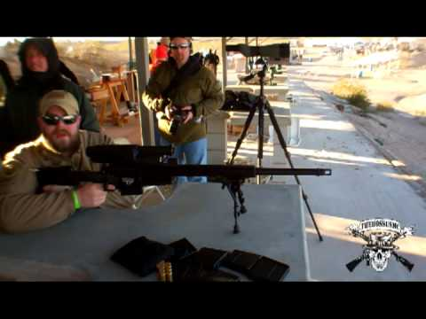 Sniping EZ Mode With Tracking Point @ SHOT Show 2013