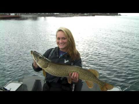 Trophy Northern Pike Fishing the St. Lawrence River