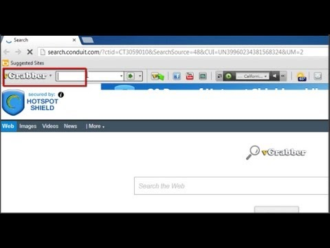 How to Uninstall VGrabber toolbar.Remove VGrabber from Google Chrome