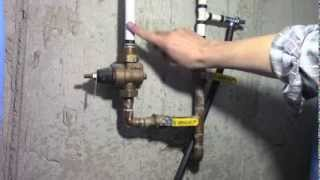 How to adjust & measure home water pressure