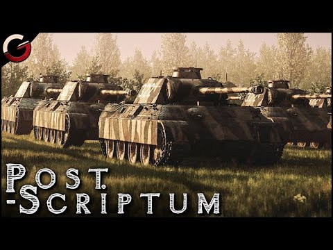 GREATEST TANK BATTLE! German SS PANZER DIVISION   Post Scriptum Gameplay