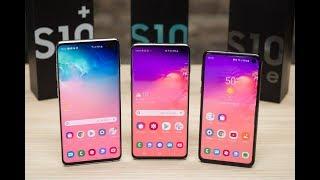 Galaxy S10 Plus vs Galaxy S10 vs Galaxy S10e🔥🔥🔥|| Which S10 smartphone is better to BUY