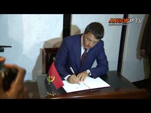 Primeiro ministro italiano rende homenagem a Agostinho Neto