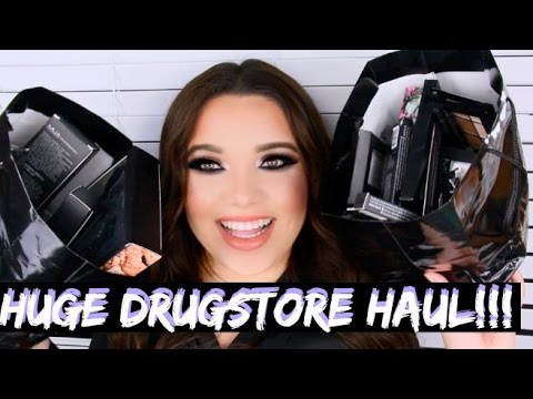 HUGE Drugstore Makeup HAUL! CVS MUA Makeup Academy