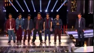 "1st Performance - Filharmonic - ""Treasure"" By Bruno Mars - Sing Off - Series 4"