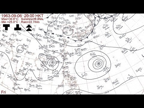 The 1963 typhoon season with Hong Kong daily weather summaries