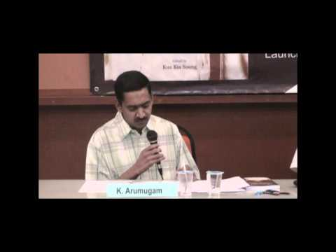 K. Arumugam Speaks At 'lim Lian Geok - Soul Of The Malaysian Chinese' Book Launch (part 2) video