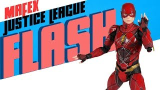 Mafex Justice League Flash Action Figure Showcase