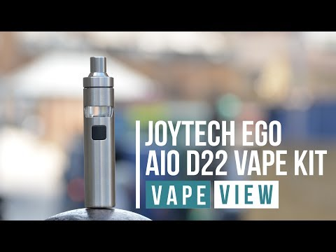 Joyetech Ego AIO D22 Vape Kit Review - Vape View | VAPE SUPERSTORE