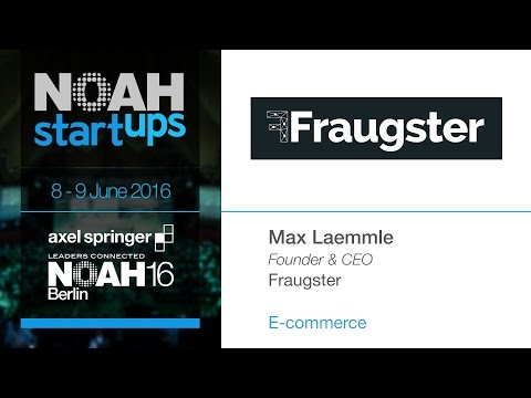 Fraugster - NOAH16 Berlin Startup Competition