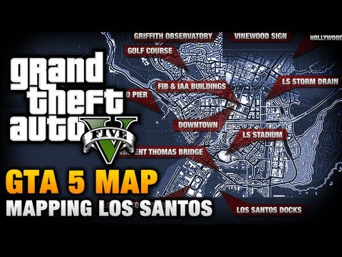 GTA 5 - Map Analysis [Mapping Los Santos]