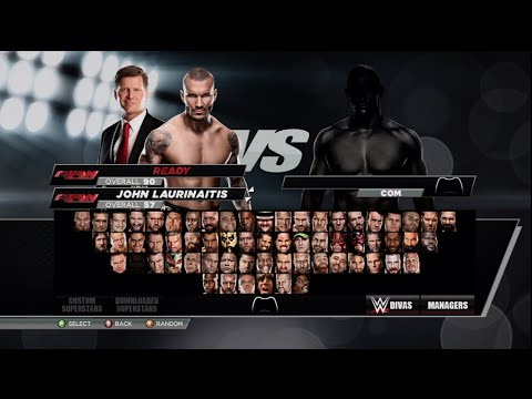 WWE 2K15 Full Roster Including Superstars. Divas and Managers!