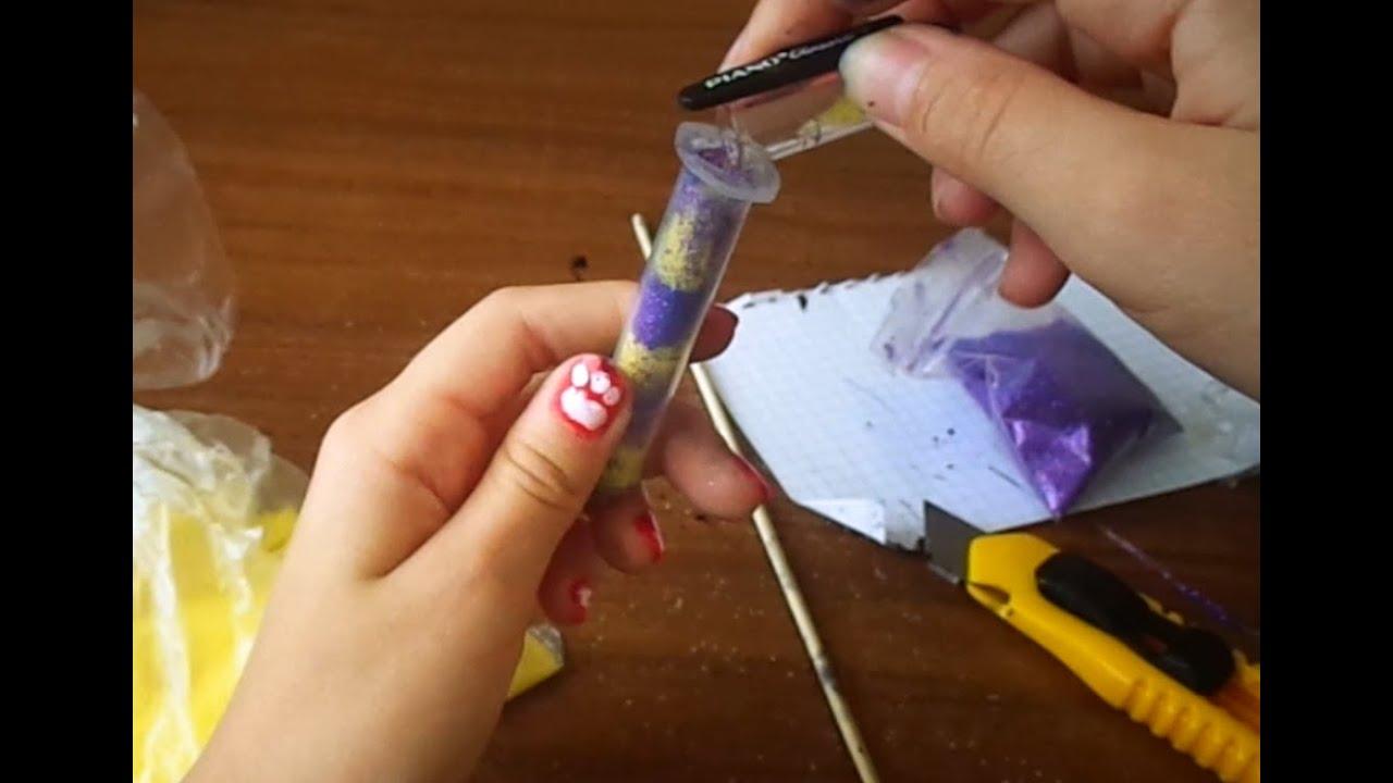 Как сделать ручку из шприца своими руками 99