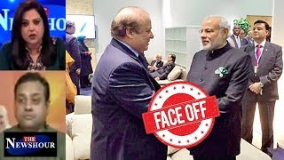 SCO Summit - PM Modi Meets Nawaz Sharif In Astana: The Newshour Debate (8th June)