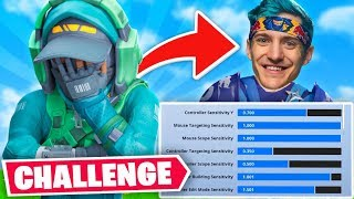 So I copied NINJA's Fortnite Settings