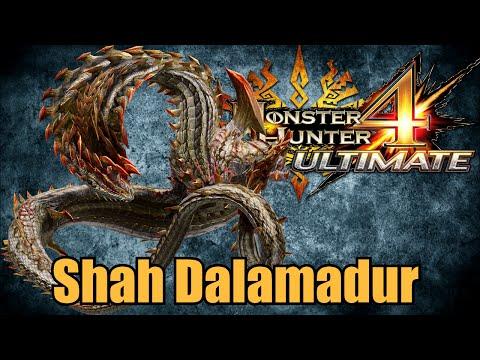 Monster Hunter 4 Ultimate - Shah Dalamadur