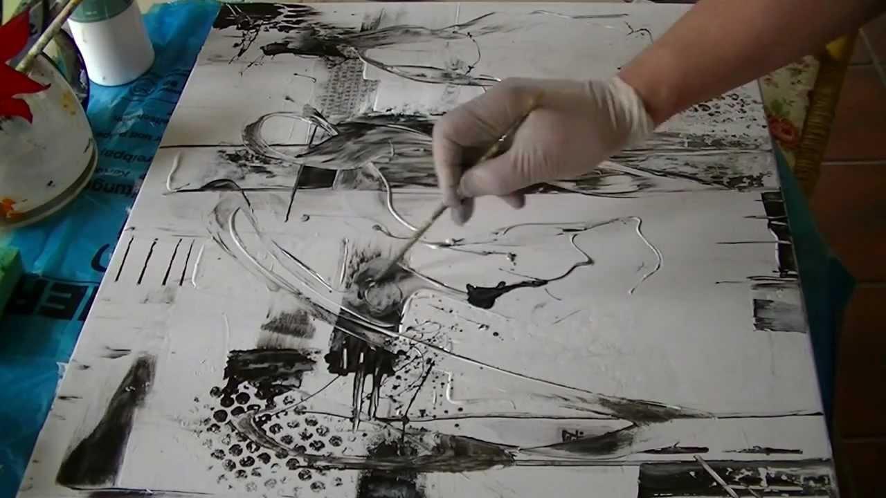 Acrylmalerei abstrakte kunst youtube bilderrahmen ideen for Acrylmalerei ideen