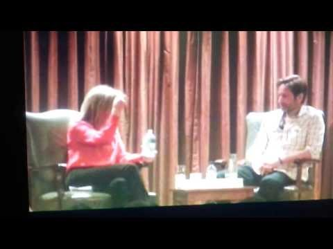 Conversations with David Duchovny - Gillian Anderson- 2011